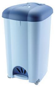 Koš odpadkový CAROLINA, objem 50 l, 41, 5 x 34, 5 x 63, 5 cm