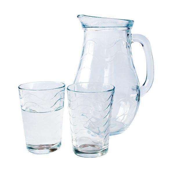 Sada džbán + 6 sklenic TOROS