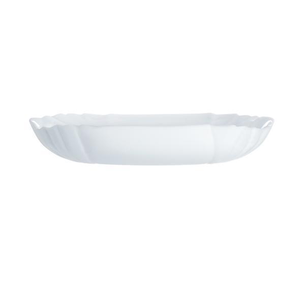 Talíř polévkový Lotusia,bílá,22,5x22,5x3,5cm