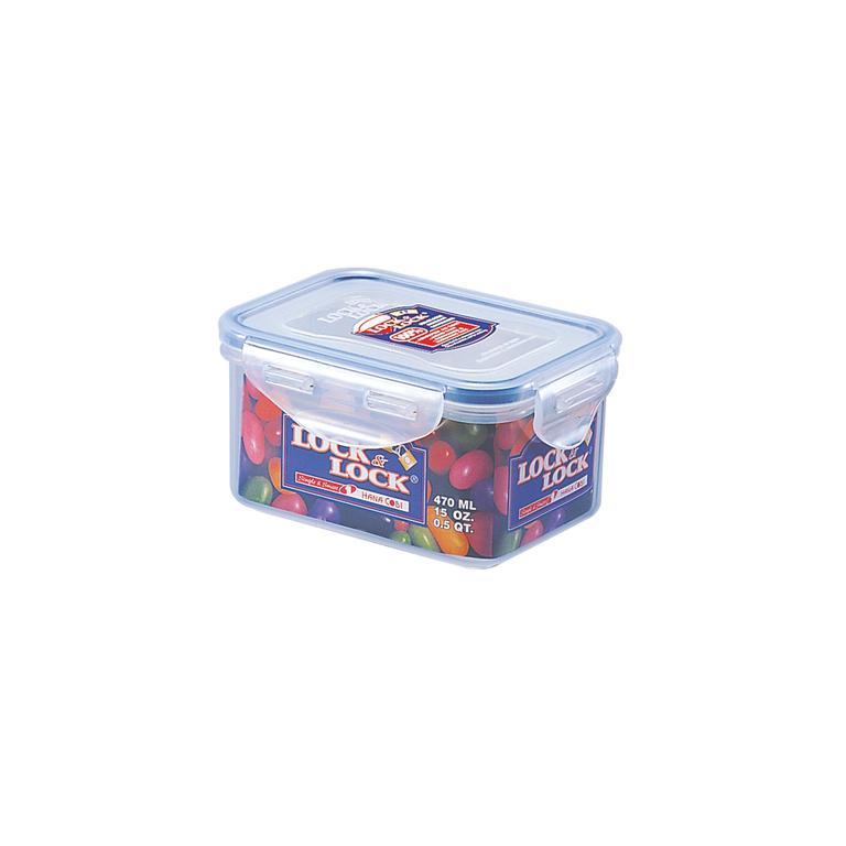 Dóza na potraviny LOCK, objem 470 ml, 9, 8 x 12, 6 x 6, 7 cm