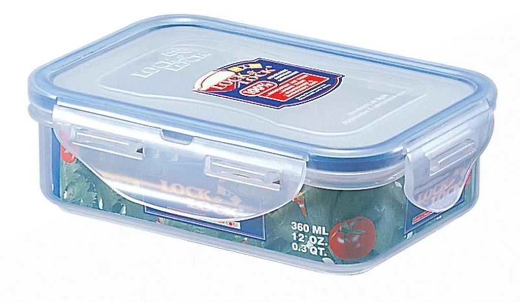 dóza na potraviny LOCK 15 x 10,8 x 4,5 cm 360 ml