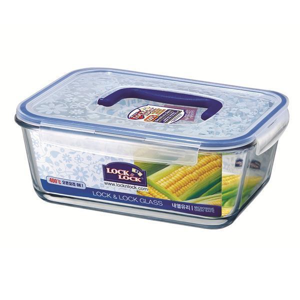 Mísa na potraviny LOCK boroseal 4L,29.7x22x11.5cm