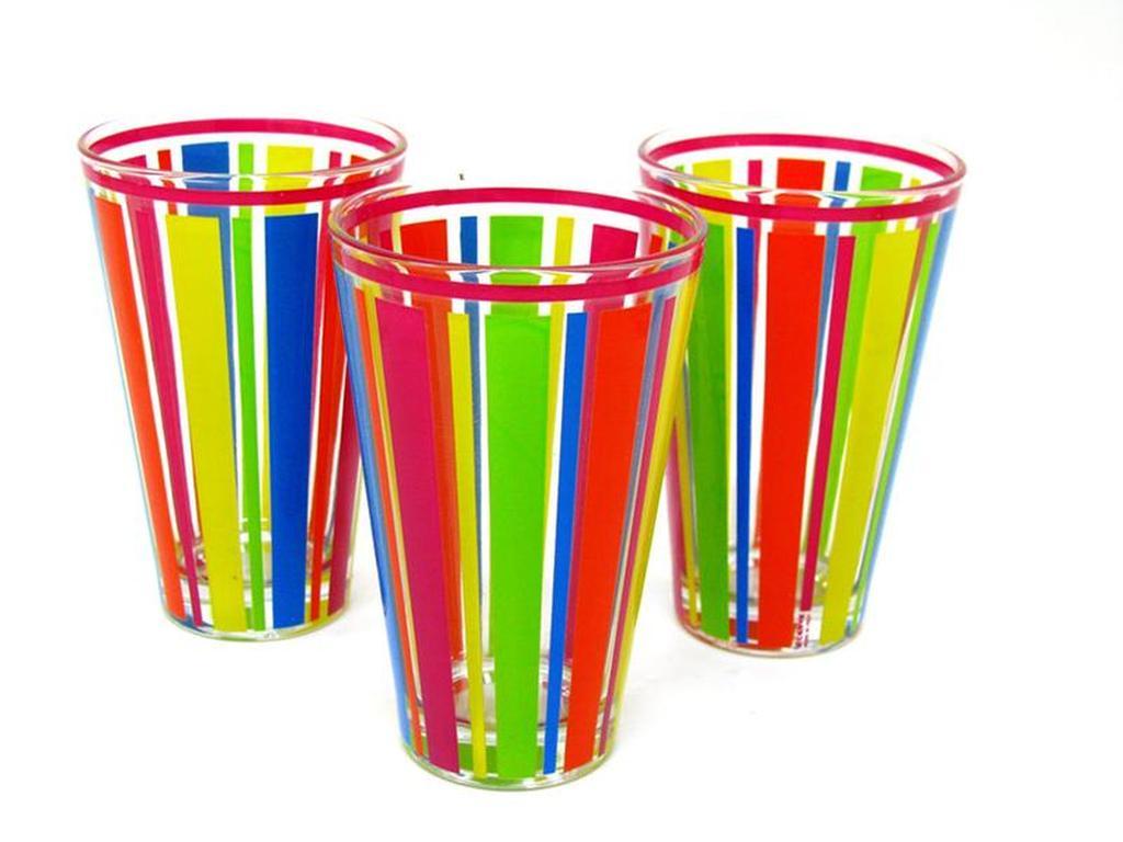 sklenička nadia 8 x 12,4 cm, set 3 ks